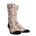 Las Vegas Welcome Sign Pattern Lovely Birthday Gift For Men Women Comfortable Unique Socks