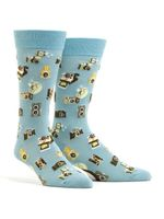 Men's Say Cheese Socks Comfortable Funny Cute Unique Socks