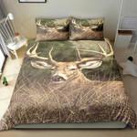 Deer In Forest Printed Bedding Set Bedroom Decor