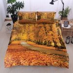 Maple Forest Autumn Coming Bedding Set Bedroom Decor