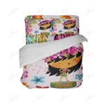 Cute Hula Girl 3D Bedding Set Bedroom Decor