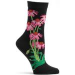 Echinacea Women's Crew Socks Funny Cute Unique Socks