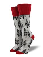 "Outlands - Women's ""Trees"" Socks Comfortable Funny Cute Unique Socks"