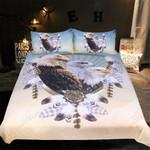 Three Eagles With Dreamcatcher 3D Bedding Set Bedroom Decor