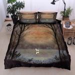 Deer Elk Forest  Bedding Set Bedroom Decor