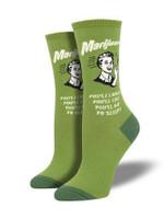 """Retro Spoof """"Mary Jane"""" Socks Lovely Birthday Gift For Men Women Comfortable Unique Socks"""