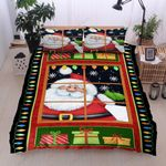 Christmas Say Hi Bedding Set Bedroom Decor