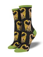 "Women's ""Longneck Love"" Socks Comfortable Funny Cute Unique Socks"