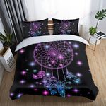 Purple Dreamcatcher With Firefly Bedding Set Bedroom Decor