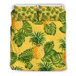 Yellow Tropical Pineapple 3D Bedding Set Bedroom Decor
