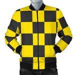 Black And Yellow Taxi Pattern 3D Printed Unisex Jacket