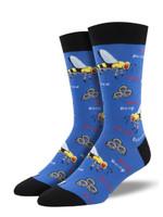 "Men's ""Buzzted"" Socks Comfortable Funny Cute Unique Socks"