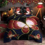 Butterfly Blue Background 3D Bedding Set Bedroom Decor