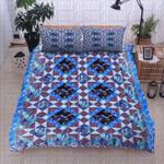 Dragonfly Dance Geometric Bedding Set Bedroom Decor