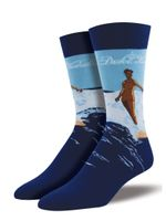"Men's Duke Kahanamoku ""Legacy"" Socks Comfortable Funny Cute Unique Socks"