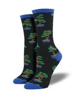 "Women's ""Zen Bonsai"" Socks Comfortable Funny Cute Unique Socks"