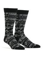 Men's A Genius Composition Socks Comfortable Funny Cute Unique Socks