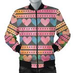 Heart Sign Pattern 3D Printed Unisex Jacket