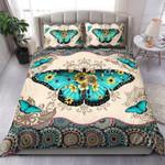 Butterfly Mandala Sunflowers Bedding Set Bedroom Decor