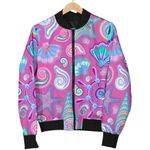 Starfish Pink 3D Printed Unisex Jacket