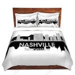Nashville Tennessee Bedding Set Bedroom Decor