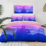 Buddha Radiance Sunset 3D Bedding Set Bedroom Decor
