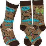 Dam Girl Sock Comfortable Cute Funny Unique Unisex Socks