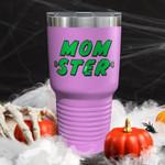 Momster Pop Art Pink Color Printed Tumbler