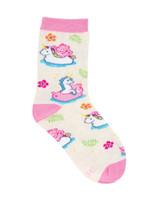 "Kid's Care Bears ""Believe"" Socks Lovely Birthday Gift Comfortable Unique Socks"