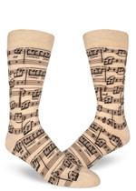 Genius Composition Men's Crew Sock Funny Cute Unique Socks