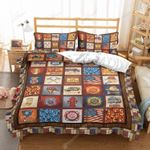 Fire Life Collection Printed Bedding Set Bedroom Decor