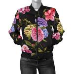 Flower Carnations Pattern  3D Printed Unisex Jacket
