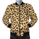 Leopard Brown Skin 3D Printed Unisex Jacket