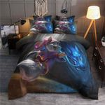Funny Chibi Wolf Printed Bedding Set Bedroom Decor