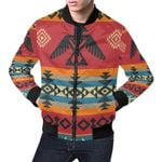 Tribal Navajo Native Indians American Aztec 3D Printed Unisex Jacket