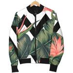 Zig Zag Tropical Pattern  3D Printed Unisex Jacket