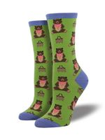 "Women's ""Time For A Pic-a-nic"" Socks Comfortable Funny Cute Unique Socks"
