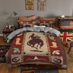 Cowboy Boot Hat  Bedding Set Bedroom Decor