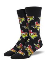 """AtomicChild """"Lone Star State"""" Socks Lovely Birthday Gift For Men Women Comfortable Unique Socks"""