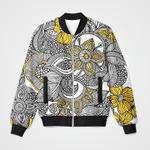 Vintage Floral Collage 3D Printed Unisex Jacket