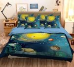 Planet Space Discover Time Bedding Set Bedroom Decor