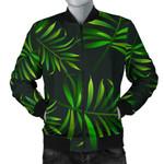 Rainforest Black Pattern 3D Printed Unisex Jacket