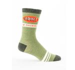 Blue Q Mens - Adult In Training Socks Gift Ideas Funny Unique Socks