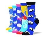 Women's Funny Animal Sock Bundle Comfortable Funny Cute Unique Socks