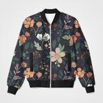 Colorful Floral 3D Printed Unisex Jacket