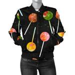 Lollipop Black Sky Star 3D Printed Unisex Jacket