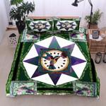 Humming Bird Geometric Bedding Set Bedroom Decor