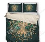 Celtic Treat You Better Tree Vintage Printed Bedding Set Bedroom Decor