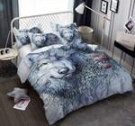 A Wolf Black Pattern Printed Bedding Set Bedroom Decor