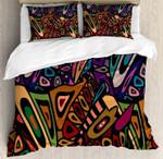Groovy Art Pattern Bedding Set Bedroom Decor